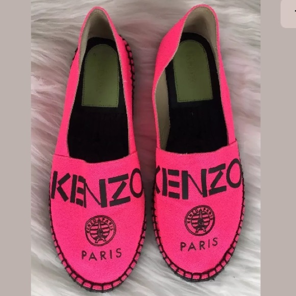 7b30db91633 Kenzo Shoes | Paris Logo Espadrilles | Poshmark